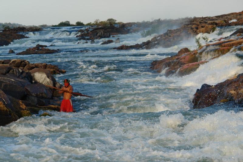 Cachoeira do Jericoá, Volta Grande do Xingu, índio xipaia_1
