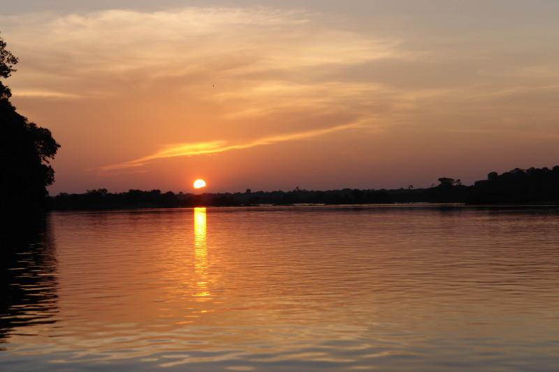 Por do Sol Xingu_1