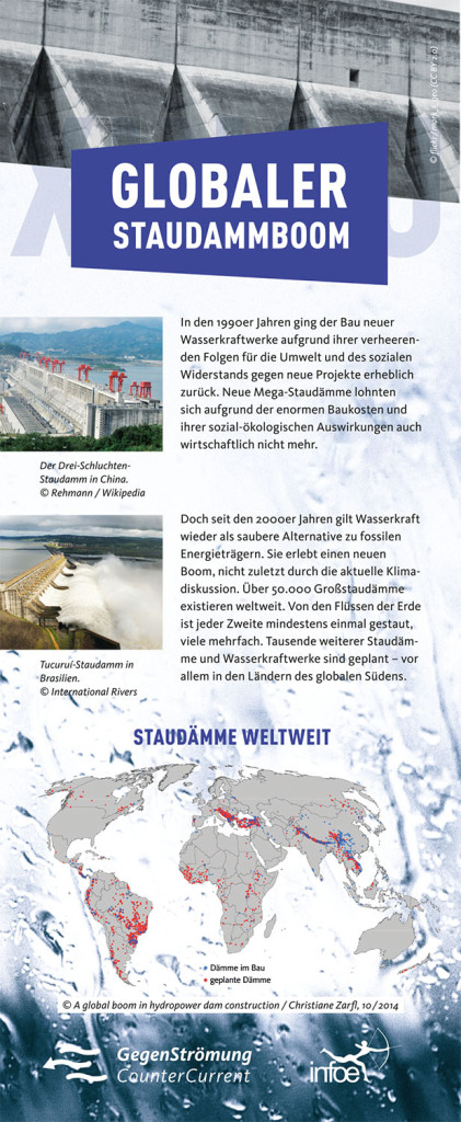 Staudammboom-Roll-Up