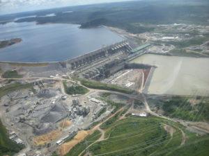 Staudamm Belo Monte. Foto: Christian Russau