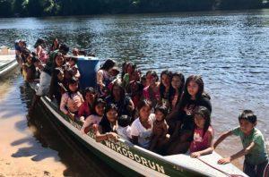 Foto: III Encontro das Mullheres Munduruku, Patauazal na Terra Indígena Munduruku, durante os dias 08 a 11 de julho de 2018